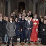 Gruppo Guardie dopo la Messa