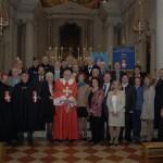 Gruppo Guardia D'Onore dopo la Messa